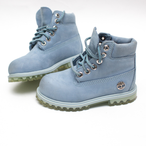 Timberland Shoes   Baby Blue Boots   Poshmark